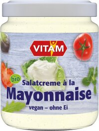 Vitam Salat Mayonnaise ohne Ei 225ml