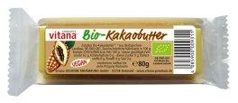 Vitana Bio-Kakaobutter -Block- 80g