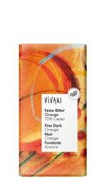 Vivani Feine Bitter Orange Schokolade 100g