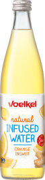 Voelkel Infused water Orange Ingwer 500ml Bio