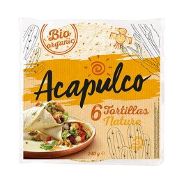 Acapulco Tortillas Wraps Bio 240g