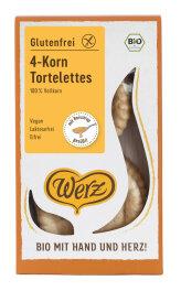 Werz 4-Korn-Tortelettes glutenfrei, Vollkorn-Gebäck...