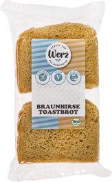 Werz Braunhirse-Toastbrot 250g