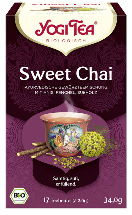 Yogi Tea Sweet Chai 17x 2g