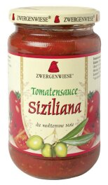 Zwergenwiese Bio Tomatensauce Siziliana 340ml