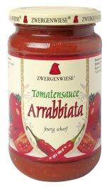 Zwergenwiese Bio Tomatensauce Arrabbiata 340ml
