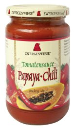Zwergenwiese Bio Tomatensauce Papaya-Chili 340ml