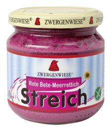 Zwergenwiese Bio Rote Bete-Meerrettich Streich 180g