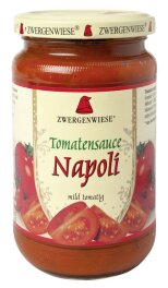 Zwergenwiese Bio Tomatensauce Napoli 340ml