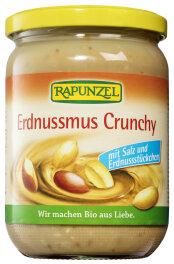 Rapunzel Bio Erdnussmus Crunchy mit Salz 500g