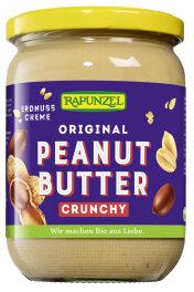 Rapunzel Bio Peanutbutter Crunchy 500g