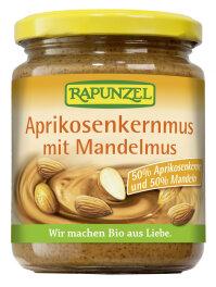 Rapunzel Bio Aprikosenkernmus mit Mandelmus 250g