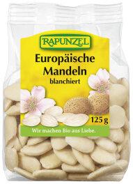 Rapunzel Bio Europäische Mandeln blanchiert 125g