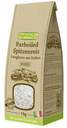 Rapunzel Bio Parboiled Spitzenreis Langkorn Weiß 1kg