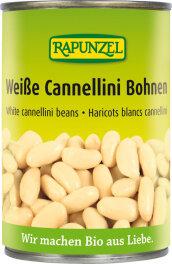 Rapunzel Bio Weiße Cannellini Bohnen in der Dose 400g