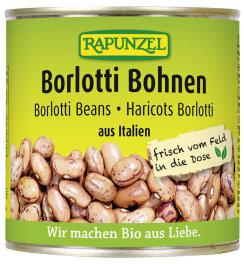 Rapunzel Bio Borlotti Bohnen in der Dose 400g