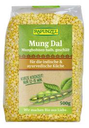 Rapunzel Bio Mung Dal, Mungbohnen halb, geschält 500g