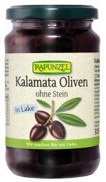 Rapunzel Bio Oliven Kalamata violett, ohne Stein in Lake...