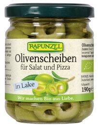 Rapunzel Bio Olivenscheiben für Salat und Pizza 190g