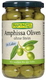 Rapunzel Bio Oliven Amphissa grün, ohne Stein in...