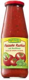 Rapunzel Bio Passata Rustica mit Basilikum 680g