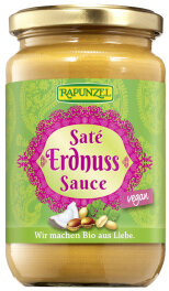 Rapunzel Bio Saté Erdnuss-Sauce 350ml