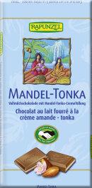 Rapunzel Vollmilch Schokolade Mandel-Tonka HIH 0,11kg