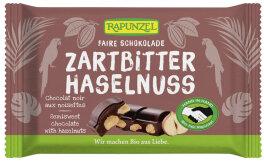 Rapunzel Bio Zartbitter Schokolade mit ganzen Nüssen...