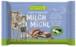Rapunzel Milch Michl Schokolade mit Milchfüllung HIH...