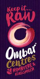 Ombar Roh-Schoko Centres Himbeer 35g