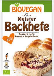 Biovegan Meister Backhefe 7 g Bio
