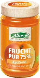 Allos Aprikose Frucht Pur 250g