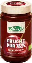 Allos Sauerkirsche Frucht Pur 250g