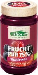 Allos Frucht-Pur Waldfrucht bio 250g