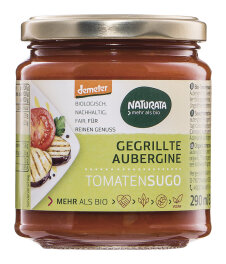 Naturata Bio Demeter Tomatensugo mit gegrillter Aubergine...