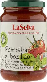 LaSelva Tomate natur mit Basilikum 340g