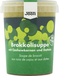 Jooti Bio Brokkoli-Cashew-Dattel Suppe 450ml