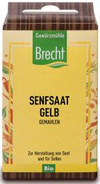 Brecht Bio Senfsaat gemahlen 35g