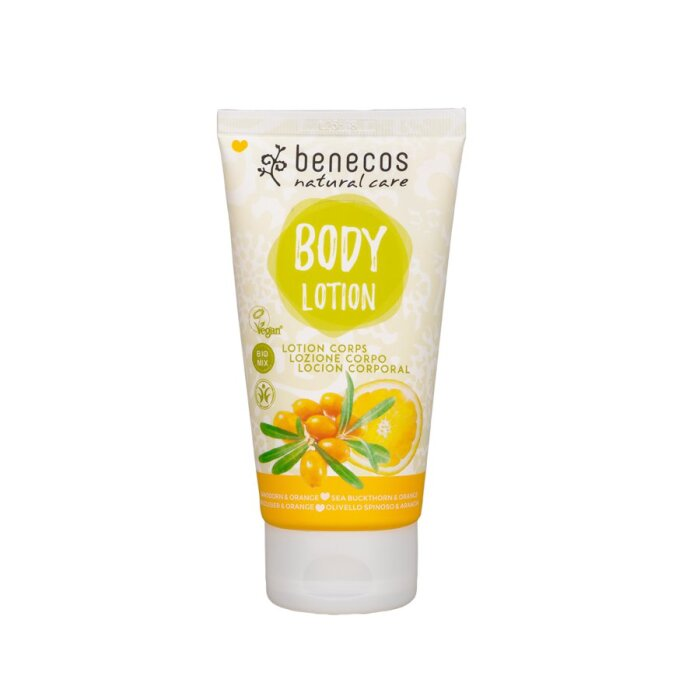 Benecos Bio Bodylotion Sanddorn & Orange 150ml