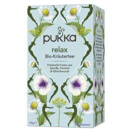 Pukka Bio Relax Tee 20 Beutel