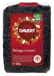 Davert Bio Beluga Linsen schwarz 500g