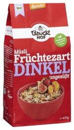 Bauckhof Bio Dinkel-Müzli Früchtezart 425g
