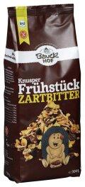 Bauckhof Knusper Frühstück, Zartbitter 300g
