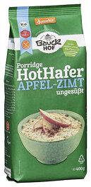 Bauckhof Bio Hot Hafer Apfel-Zimt Haferbreimischung 400g