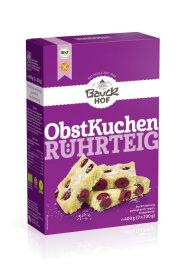 Bauckhof Obstkuchenteig Rührteig 400g