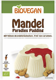 Biovegan Bio Mandel Paradies Pudding 43g