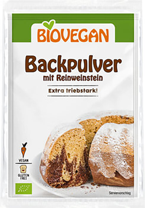 Biovegan Backpulver 68g