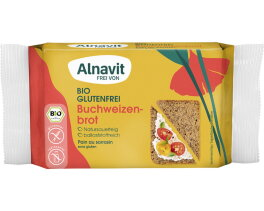 Alnavit Bio Buchweizenbrot mit Sesam 250g