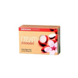 Sodasan Cream Seife Mandel 100g