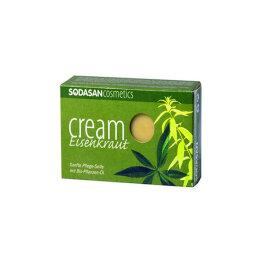 Sodasan Cream Seife Eisenkraut 100g
